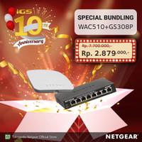 Netgear WAC510 Access Point Bundling GS308P Unmanaged Switch
