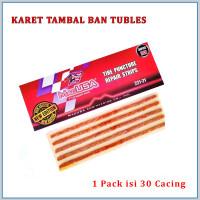 Karet Tambal Tubles / Lem Cacing / Refill Tubles MACUSA per pack