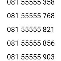 Nomor cantik indosat im3 11 digit panca 55555