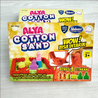 Cotton Sand/Pasir Ajaib/Magic Sand 200 gr Cetakan Pasir Castle/MAGIC