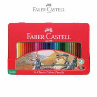 Pensil Warna Faber Castell 36 Classic Kemasan Kaleng (Tin Case)
