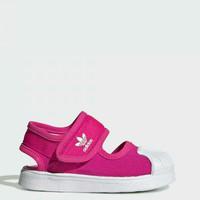 """sneakers sandal Anak perempuan """"Adidas Sandal Superstar"""" Original BNWB - 23"""