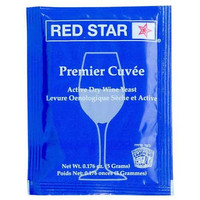 wine yeast Red star premier cuvee 5gr