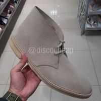 Sepatu Boot Pria CLARKS DESERT BOOT Big Size Sale