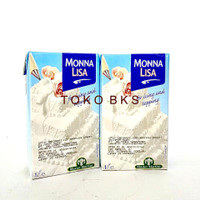 MONNA LISA WHIPPING CREAM 1LTR