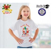 Baju Kaos Anak Tema NATAL CHARACTER SK-FASHION bisa cetak nama