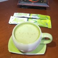espreciello allure green tea latte kemasan packaging polos