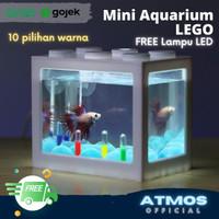 Aquarium Cupang / Aquarium Mini Lego