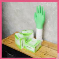 Sarung Tangan Nitrile Superlife Teal / Sarung Tangan Karet Medis