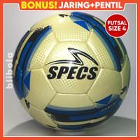 Bola futsal Specs bahan starwing full kain