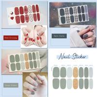 Nail Stickers Stiker Kuku Snoopy Manicure Kuku Palsu Mainan Fake Nails