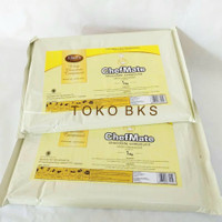 CHEFMATE WHITE CHOCOLATE COMPOUND 1Kg