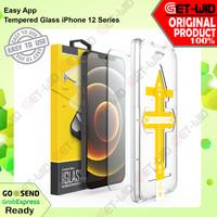 Tempered Glass iPhone 12 Pro Max / 12 Pro / 12 Mini Easy App Premium