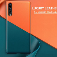VEGAN LEATHER CASE CASING HUAWEI P20 PRO P 20