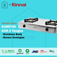 Kompor Gas 2 Tungku Rinnai RI602EW