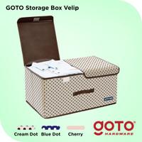 Goto Velip Storage Box Organizer Container Kotak Penyimpanan Baju