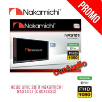 Double din NAKAMICHI NA-3101i Autolink Android dan iPhone