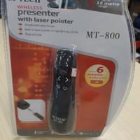 Wireless Presenter M-Tech MT-800 Laser Pointer Mirip Logitech R400