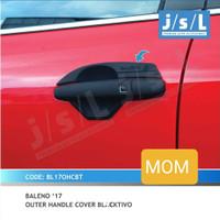 Paket Cover Handle + Outer mangkok Pintu Hitam Black Baleno Hatchback