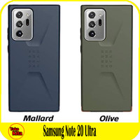 Samsung Note 20 Ultra UAG Civilian Ultra Thin Soft Case Cover Casing - Olive