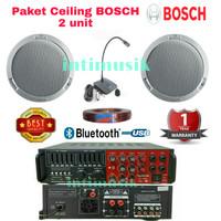 Paket Sound System Ceiling BOSCH LHM 0606 ( 2 unit )