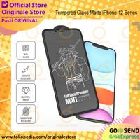 Tempered Glass Matte iPhone 12 Pro Max / 12 Pro / 12 Anti Glare - iPh 12 Pro