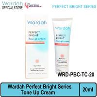 wardah perfect bright series tone up cream 20 ml ori bpom