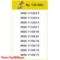 Kartu Perdana Nomor Cantik m3 11 digit seri 111233 9 Bmi11