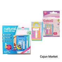 Kantong Asi Natural Moms 150 ml + Gabag 150 ml