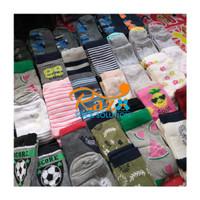 (24 pcs) Grosir Kaos kaki Anak TK SD motif lucu - Anak laki laki
