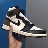 Nike Air Jordan 1 High OG Dark Mocha - 100% Authentic