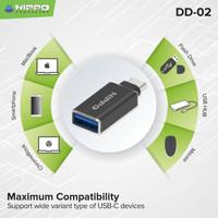 ADAPTOR / OTG DUAL DRIVE 02 USB C TO USB A 3.1 DD-02 (CONNECTOR)
