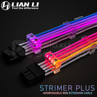 LIAN LI Strimer Plus V2 ARGB 8 pin VGA extension cable