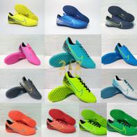 Sepatu Futsal Gerigi INike Mercurial Terbaru Komponen Original Promo - Hijau Stabilo, 39