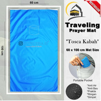 Sajadah Lipat Saku Traveling Waterproof Free Pouch 60x100Cm - Tosca