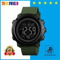 Jam Tangan Pria Digital SKMEI 1426 Rubber Sport Anti Air - Hijau Hitam