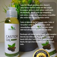 magic castor oil D'Growth solusi ampuh penumbuh dan penebal bulu alis