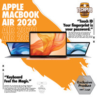 "Apple Macbook Air 2020 13"" 256GB/512GB SILVER / GOLD / SPACE GRAY - GRS RESMI IBOX, MWTJ2 i3 256GB"