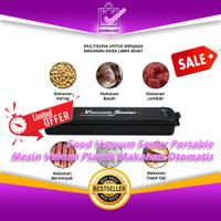 Food Vacuum Sealer Portable Mesin Vakum Plastik Makanan Otomatis 0687