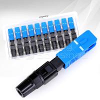 Fast Connector SC-UPC Adaptor SC FO - Connector Fiber Optic (10pcs)
