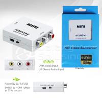HDMI2AV Converter Minibox - HDMI To AV Adapter