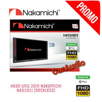 Head Unit Universal semua mobil Double din NAKAMICHI NA-3101i AUTOLINK