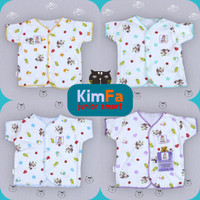 Kimfa 4pcs Baju Bayi Lengan Pendek Newborn Baru Lahir SNI Perempuan/La