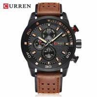 Jam tangan curren 8250 Original, date off dan FREE Box