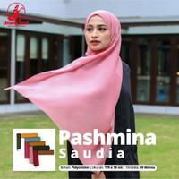 PASMINA SAUDIA BY UMAMA SCRAF JILBAB TERBARU