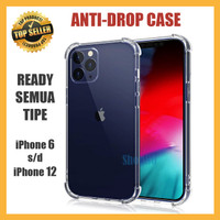 Case Anti Crack iPhone 11 12 Mini Pro Max Soft Casing Bening Shock