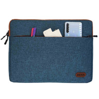Sleeve / Bag / Softcase For Macbook / Laptop - Tosca, 14 Extra