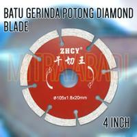 "Batu Gerinda / Gurinda Potong Diamond Blade 4"" / 4 INCH"