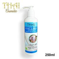 Hand & Body Lotion Goat Milk Thai 250ml BPOM Original