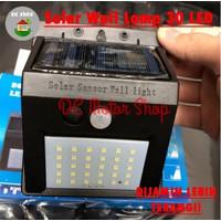 Lampu Dinding Taman Tenaga Surya Motion Sensor/Solar Cell Panel 64 Led
